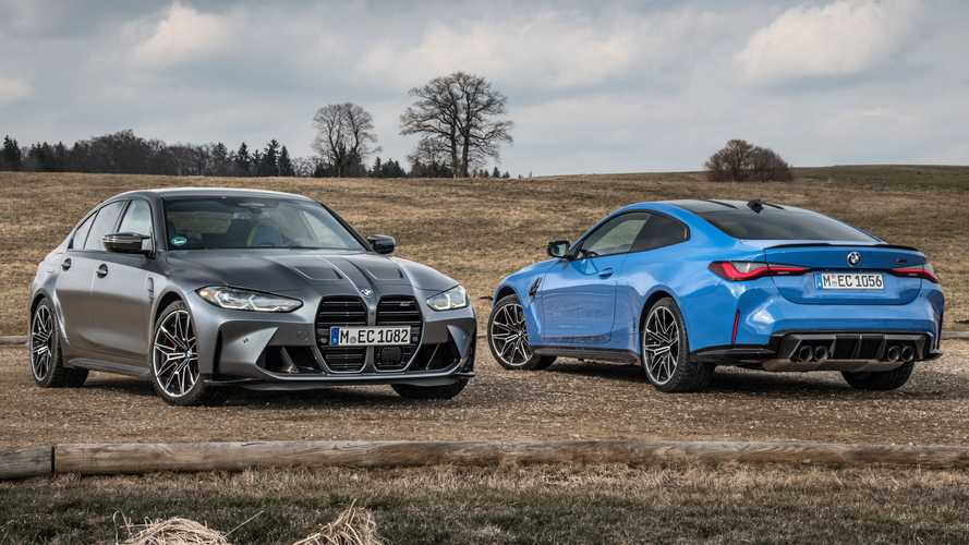 BMW M3 Competition xDrive dan M4 Competition xDrive 2022