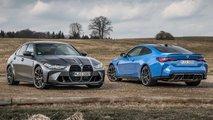 BMW M3 und M4 Competition (2022) jetzt erstmals mit xDrive