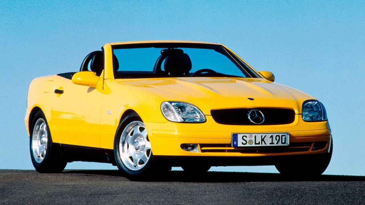 25 Jahre Mercedes SLK im Rückblick