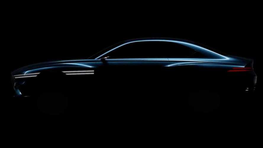 Genesis Teases Upcoming EV Again Before Shanghai Debut