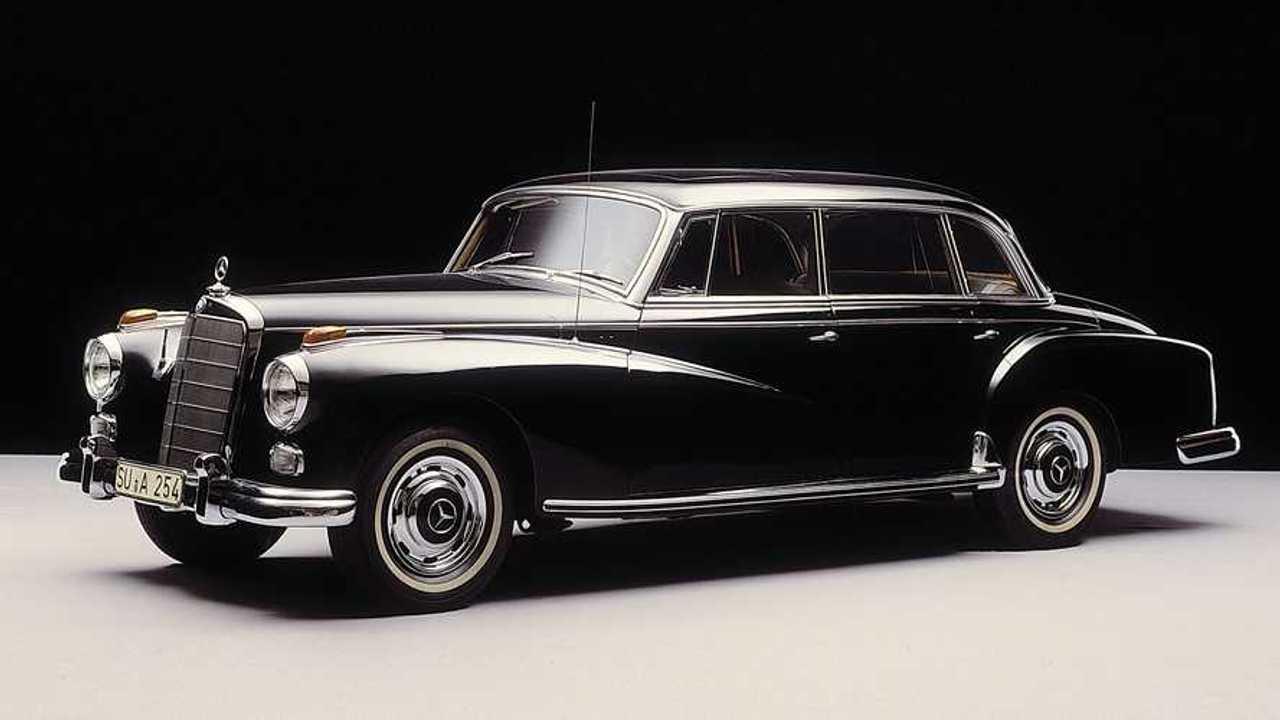 70 Jahre Mercedes Typ 300 (W186) und Typ 220 (W187)