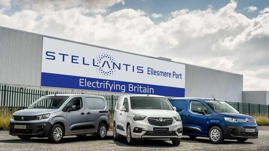 Stellantis baut Elektro-Transporter ab 2022 in Ellesmere Port