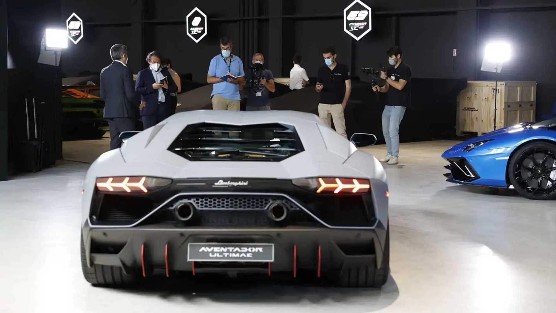 Lamborghini Aventador LP 780-4 Ultimae