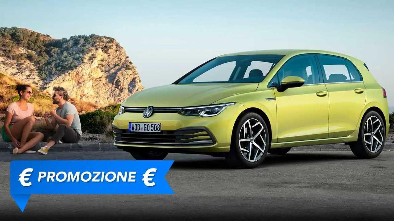 Promozione Volkswagen Golf ibrida luglio