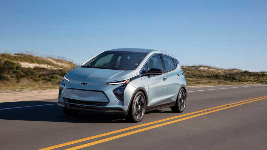 2022 Chevrolet Bolt EV Gets Marginally Better EPA Rating