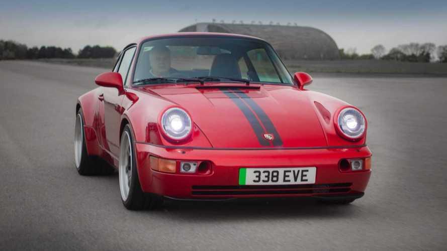 Tech Company Unveils Awesome 500-HP Porsche 911 (964) EV Restomod