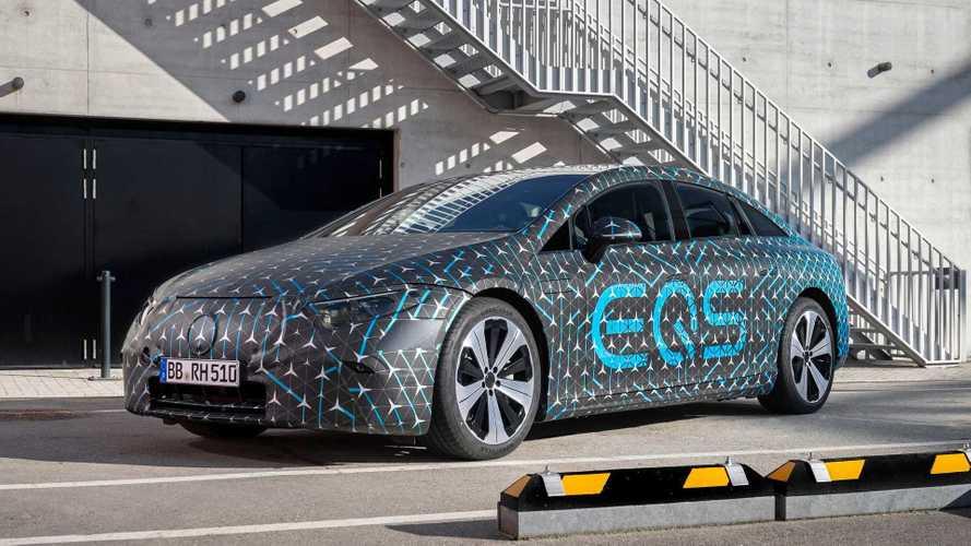 Mercedes EQS - Batterie, autonomie et motorisations