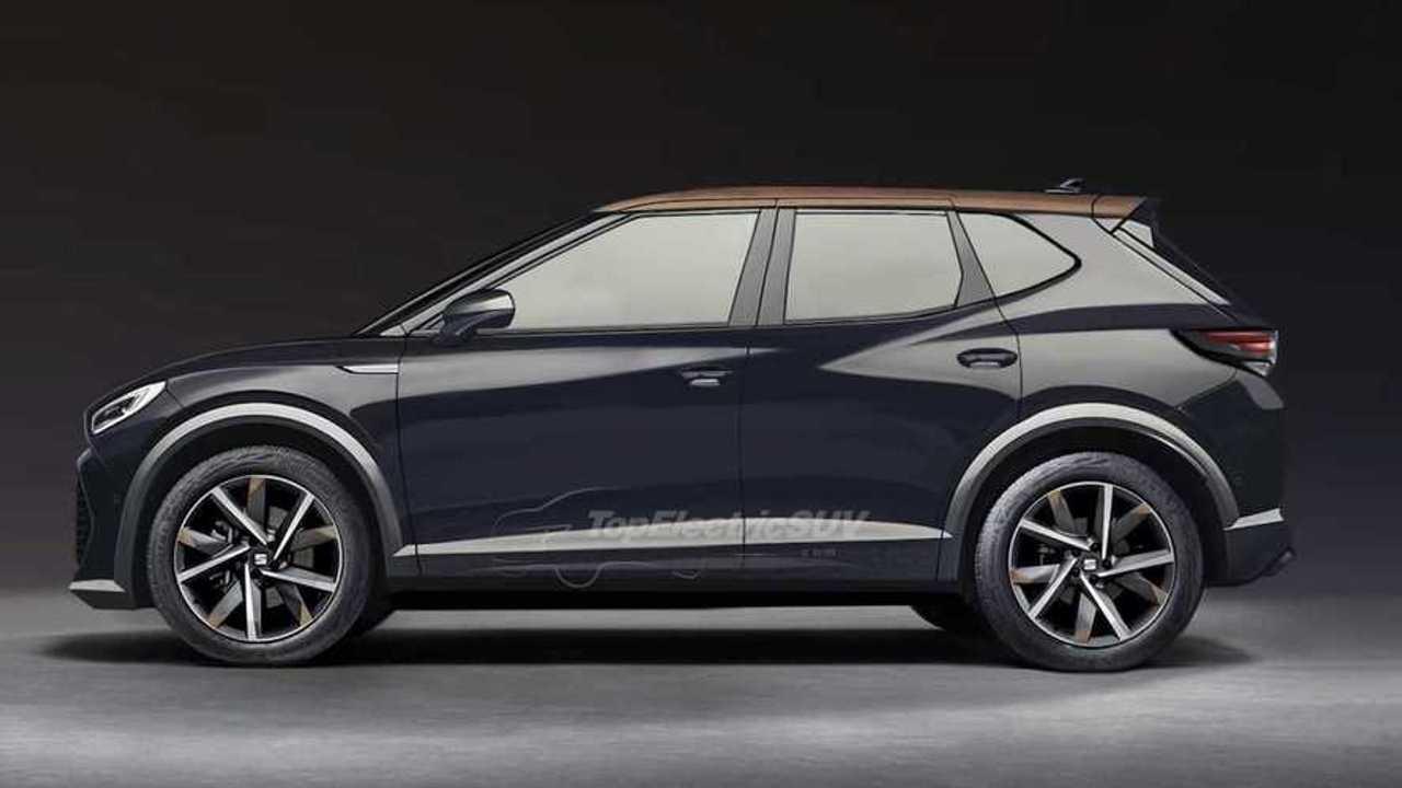 SEAT Ufak Elektrikli Crossover Hayali Tasarımı (2025)