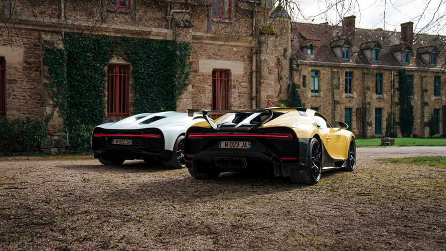 Bugatti Chiron Sport and Pur Sport Paris event