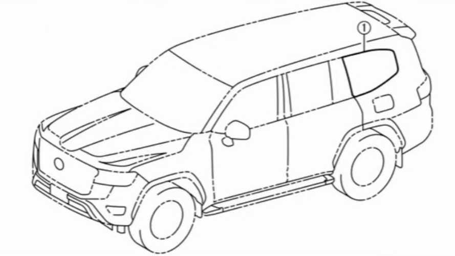 2022 Toyota Land Cruiser Technical Drawings Reveal Design Inside And Out