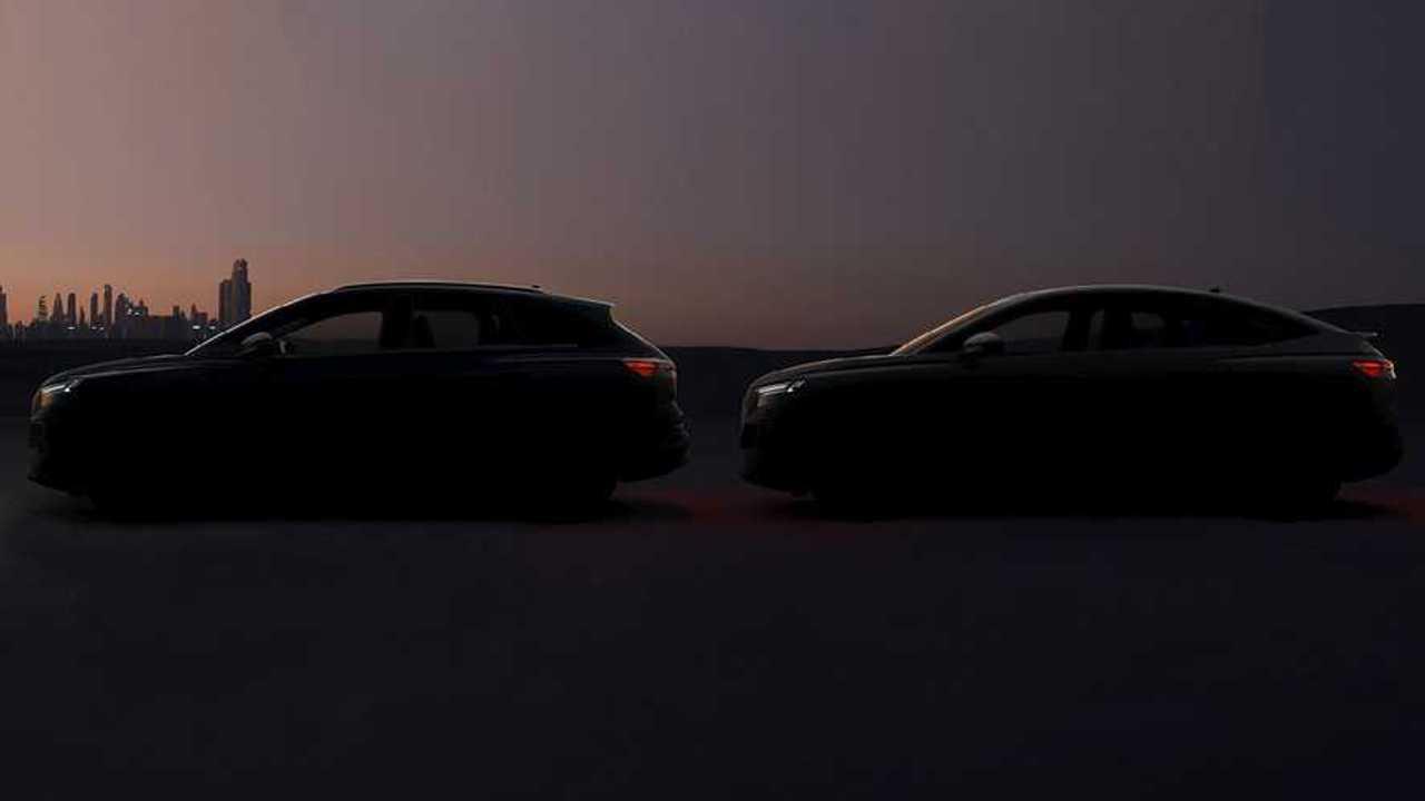 Audi Q4 E-Tron Sportback Teaser April 14
