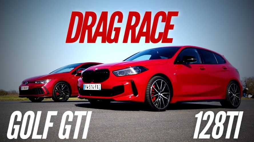 BMW 128ti Vs VW Golf 8 GTI Drag Race Leaves Us Disappointed