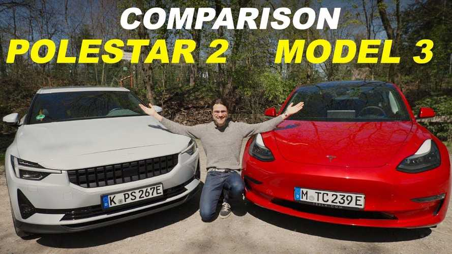 Tesla Model 3 Vs Polestar 2: Side-By-Side Comparison
