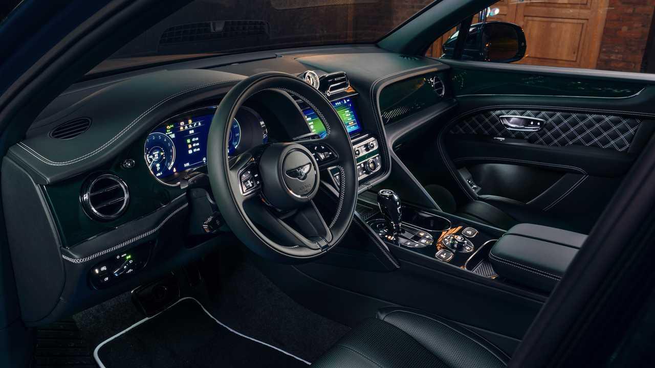 Bentley Bentayga Hybrid Sisi Kabin