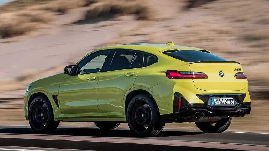 Обновленный BMW X4 M Competition (2021)