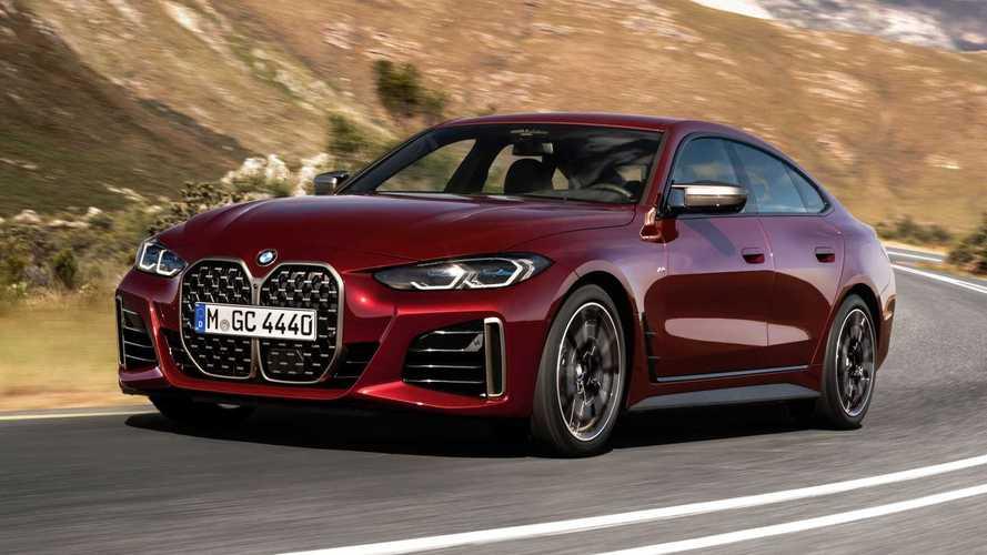 2021 BMW 4 Serisi Gran Coupe, yeni yüzüyle karşımızda
