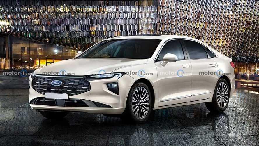 Projeção: Novo Ford Fusion 2023 será sedã com conceito inovador