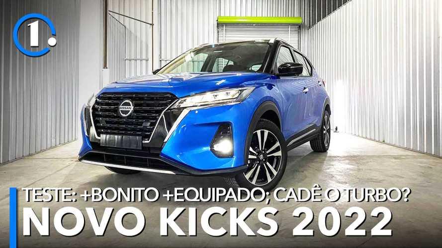 Teste: Nissan Kicks Exclusive 2022 ganha visual mais sofisticado e banho de tecnologia