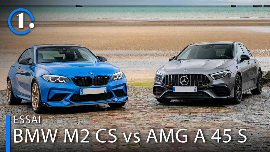 BMW M2 CS und Mercedes-AMG A 45 S im Vergleichstest