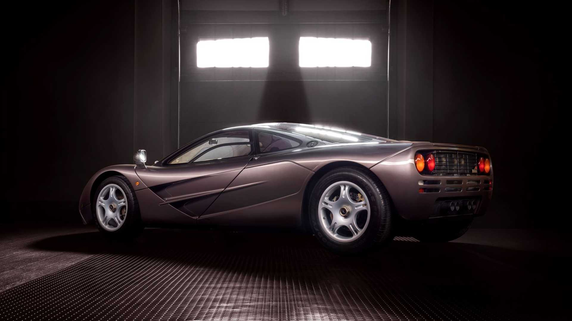 1995 McLaren F1 Gooding And Company Auction 2020 Three Quarters Rear
