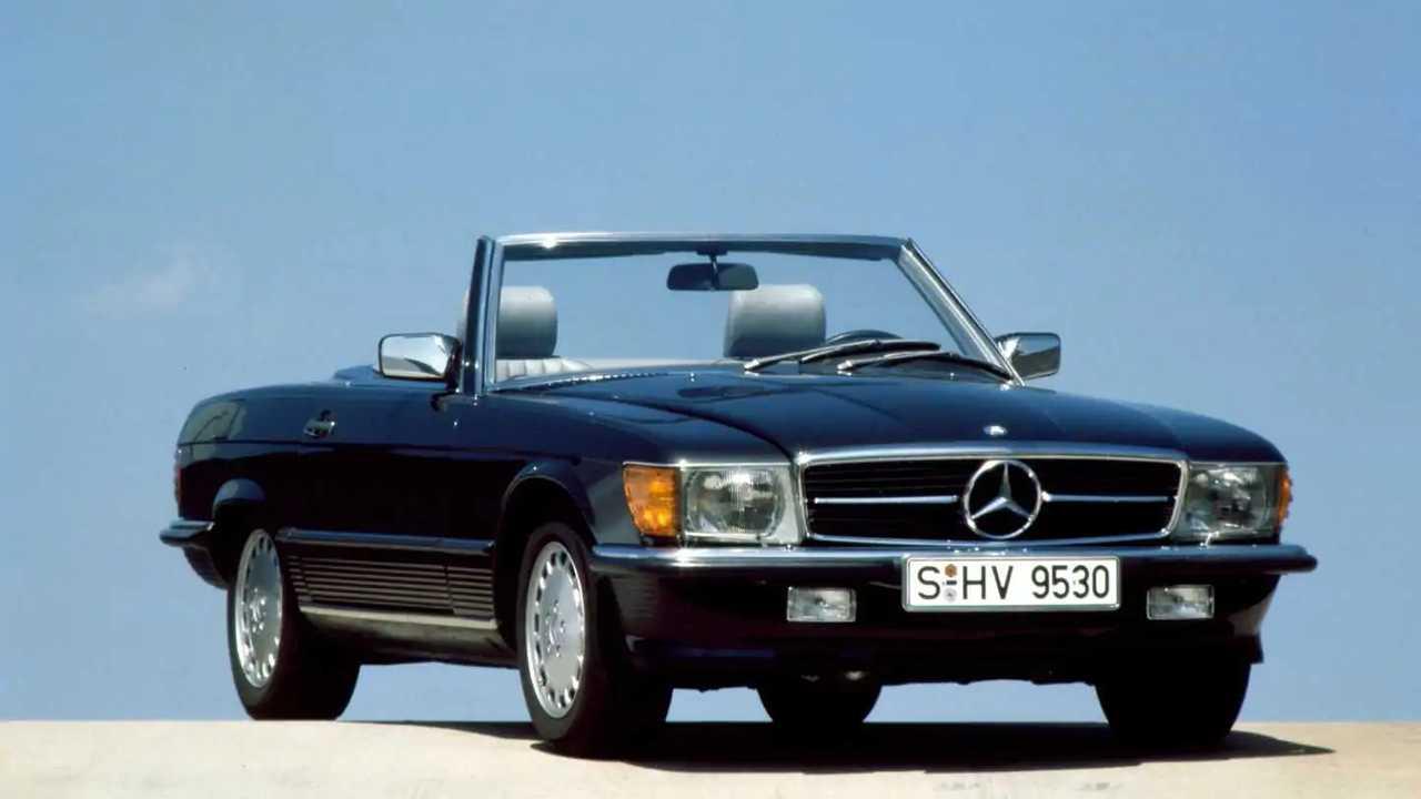 Mercedes SL R107 1971-1989