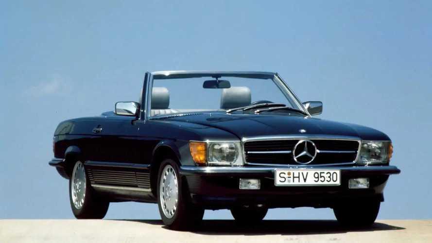 Mercedes SL R107, l'indistruttibile