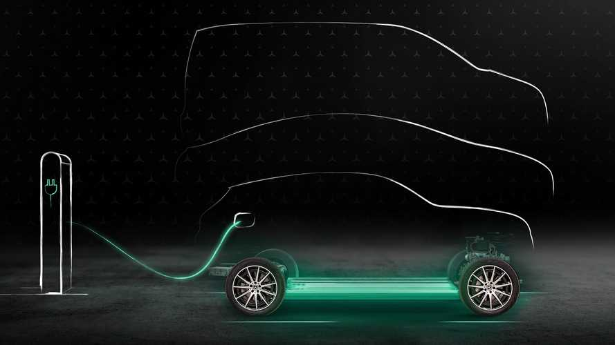Mercedes-Benz EQS Charging Teaser