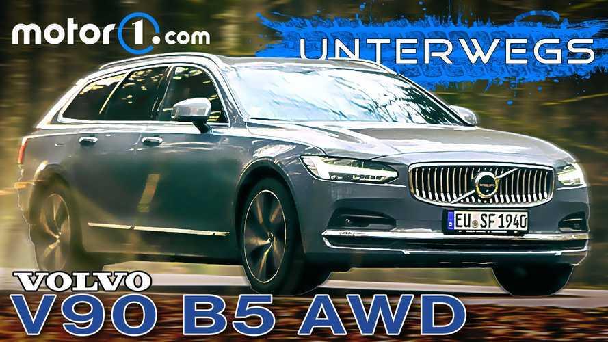 Video: Volvo V90 B5 AWD im Test - Diesel mit 235 PS