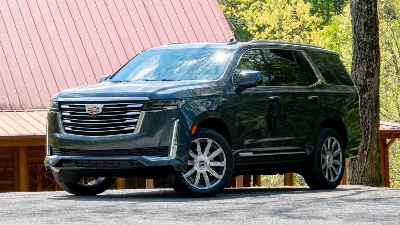 2021 Cadillac Escalade Platinum has strong demand.