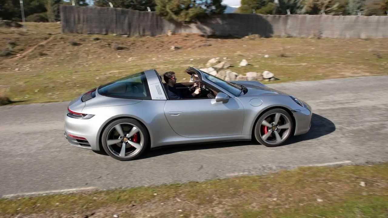 Prueba Porsche 911 Targa 4S