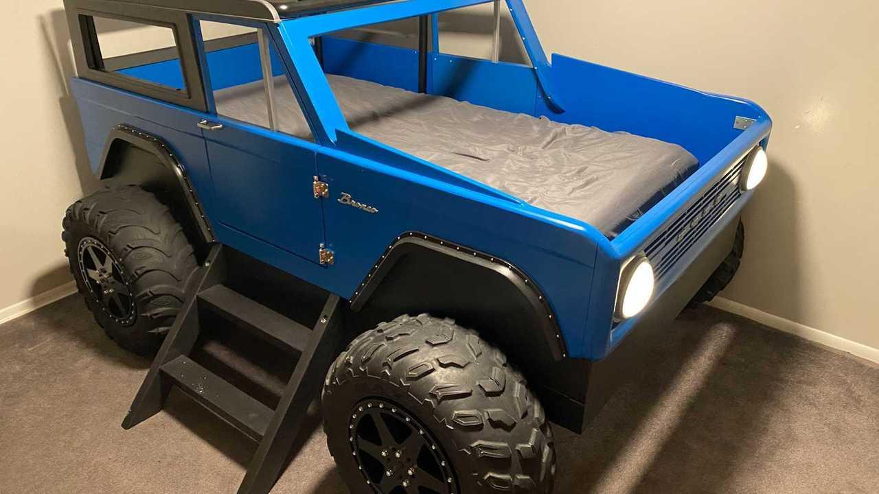 Детская кровать Ford Bronco