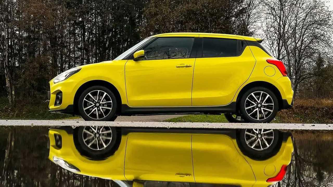 Der Suzuki Swift Sport in