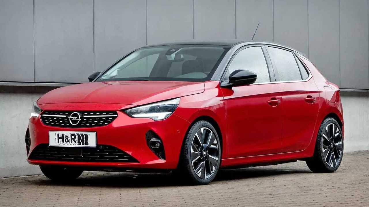 H&R-Sportfedern und Spurverbreiterung für Opel Corsa-e