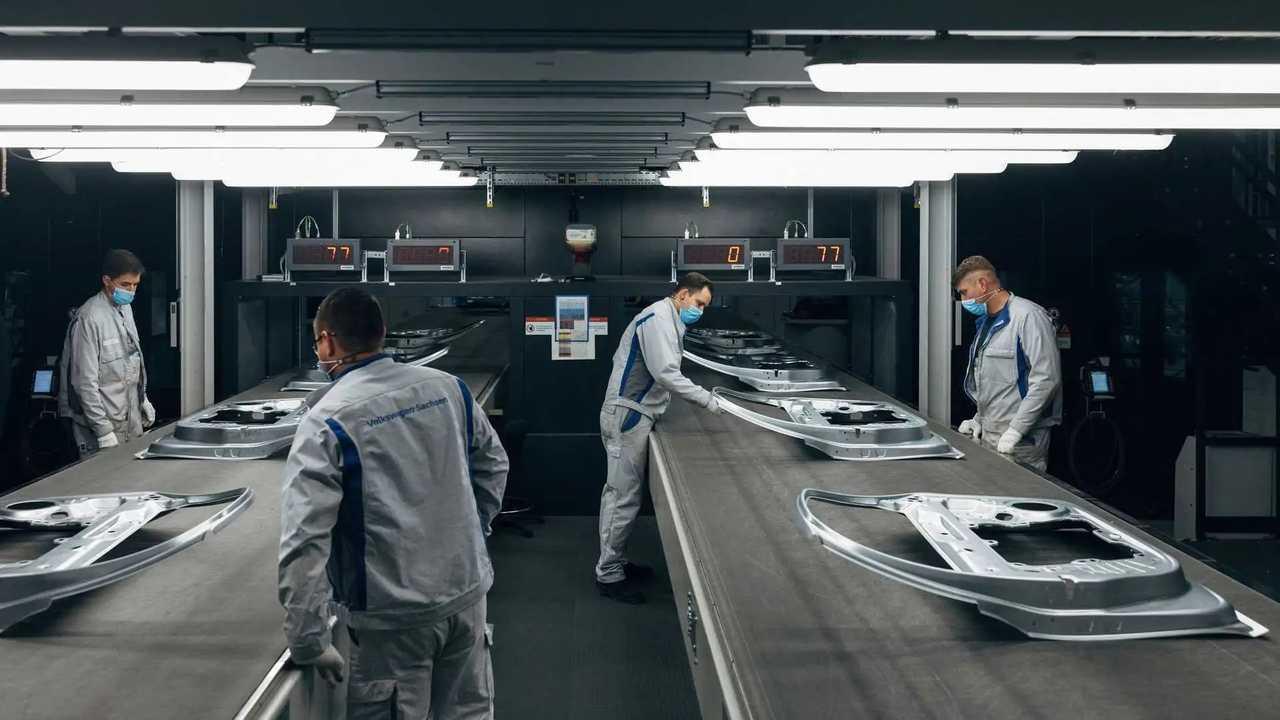 Volkswagen - fábrica de Zwickau