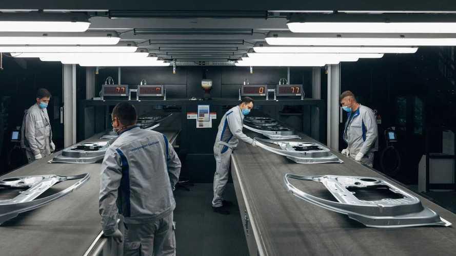 Volkswagen reduz emissões em fábrica alemã com nova estamparia