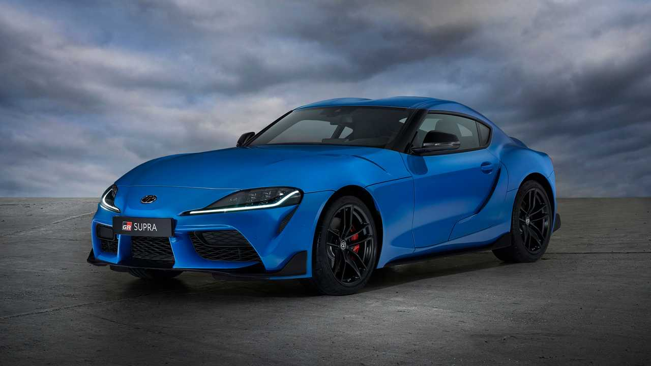 The Toyota GR Supra Jarama Racetrack Edition is an appearance upgrade sold only in limited numbers for Europe..