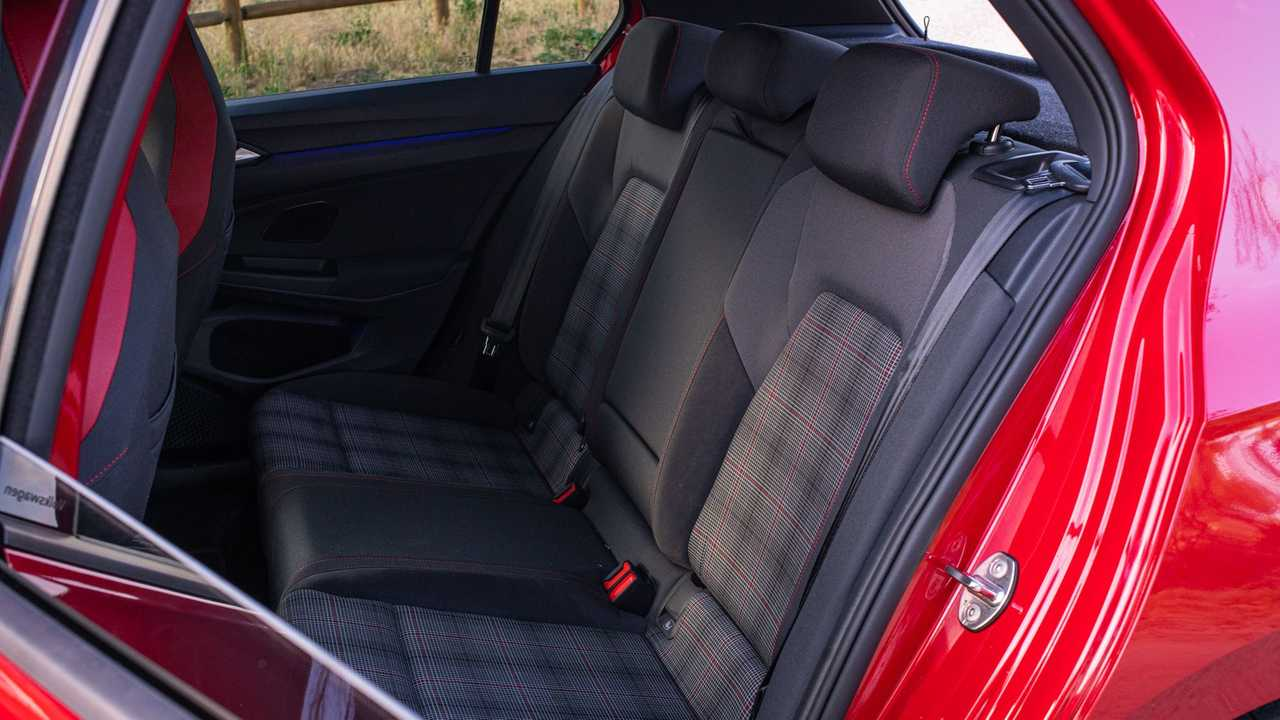 2021 Volkswagen GTI European-Spec Interior Rear Seats