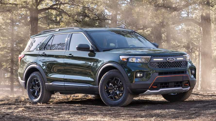 2021 Ford Explorer Timberline Revealed With Real Off-Road Goodies
