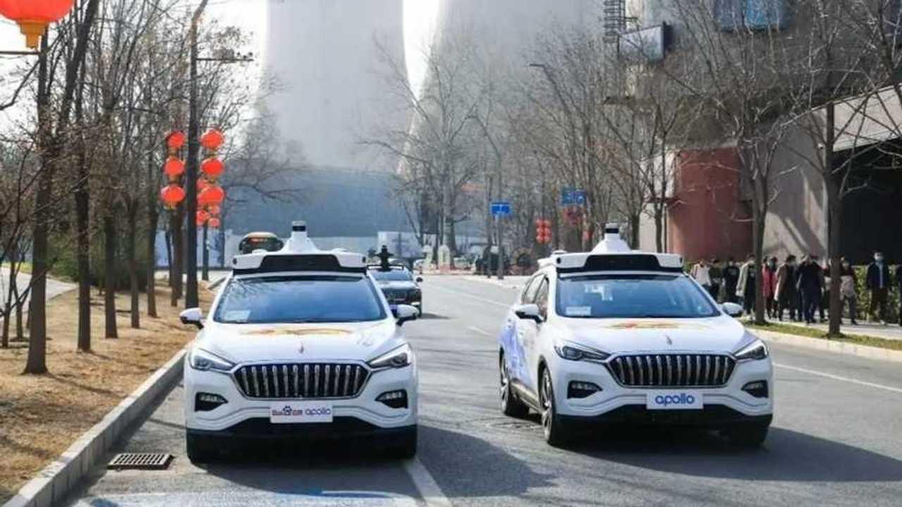 Taxi autonome en Chine
