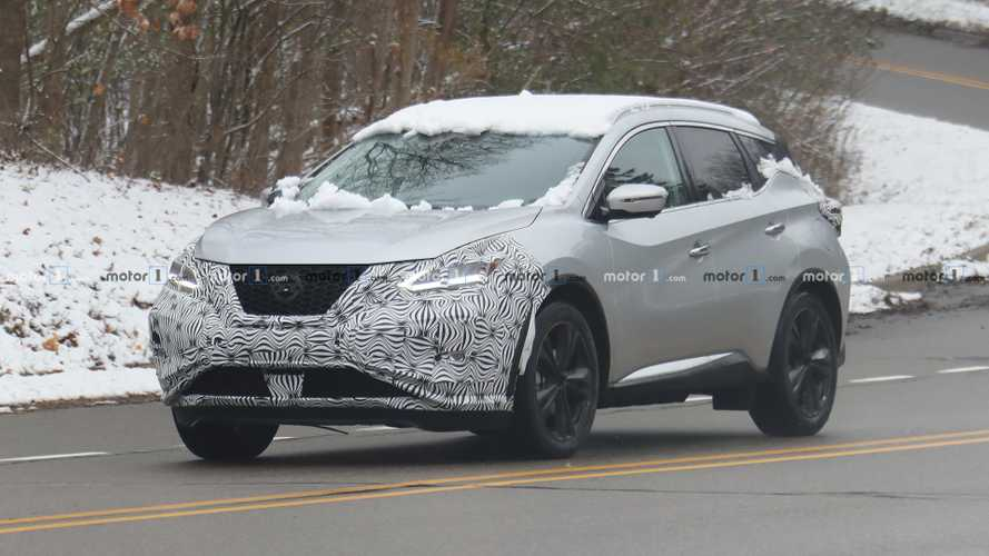 Refreshed Nissan Murano Spied Showing Off Its New Face
