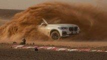 BMW X5 On Monza Desert Track