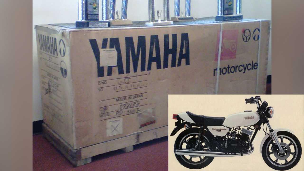 1979 Yamaha RD400F