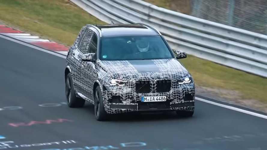 VIDÉO - Le BMW X5 M se prépare au combat sur le Nürburging