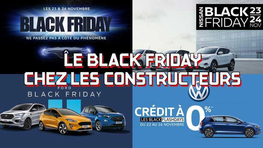 Black Friday 2018 - Les offres des constructeurs automobiles