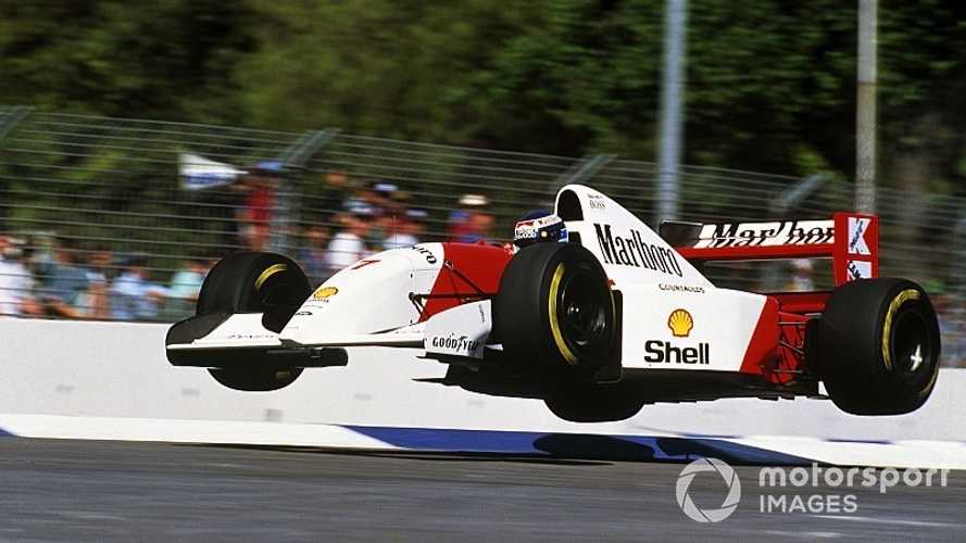La historia de una de las mejores fotos de la F1: el finlandés volador