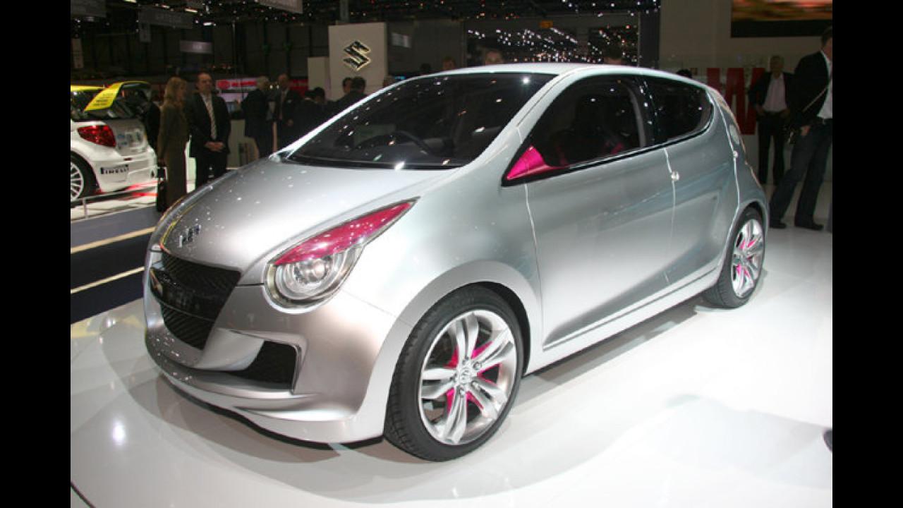 Suzuki Concept A-Star: Die seriennahe Studie nimmt den Alto-Nachfolger vorweg. Geplanter Marktstart: Anfang 2009