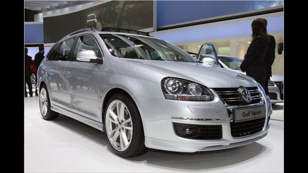 Für Transportaufgaben in bergigen Regionen empfiehlt sich der VW Golf Variant 4Motion mit Allrad