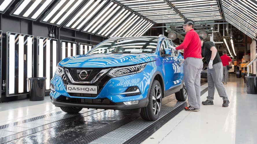 Europe's Best-Selling Nissan Qashqai Kicks Off Production