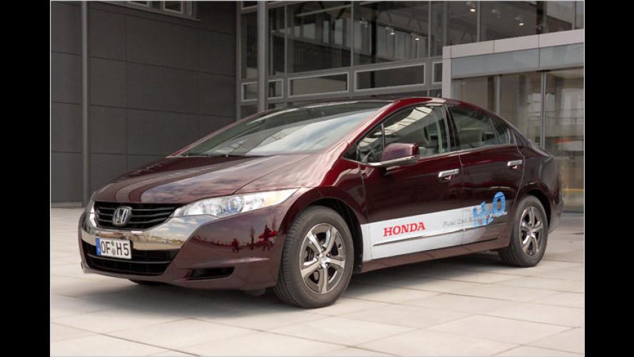 Honda FCX Clarity: Mit Wasserstoff-Power unterwegs