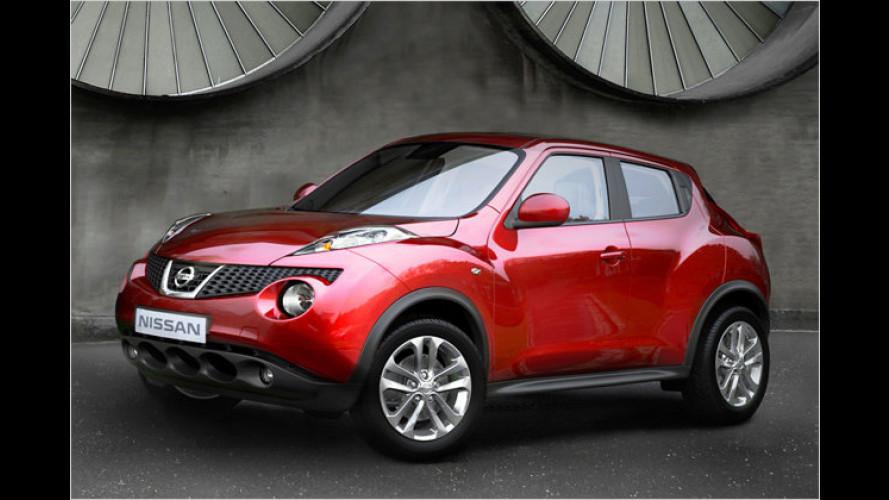 Neues Crossover-Modell: Premiere für den Nissan Juke